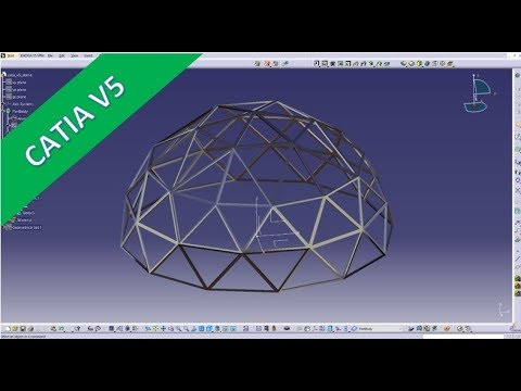 Userwish - Dome - Kuppel - Catia v5 Training - Part Design