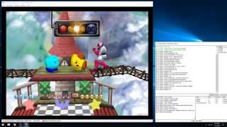 Super Smash Bros. Justase Vs. Robbie vs Cory (N64 kaillera netplay) #1