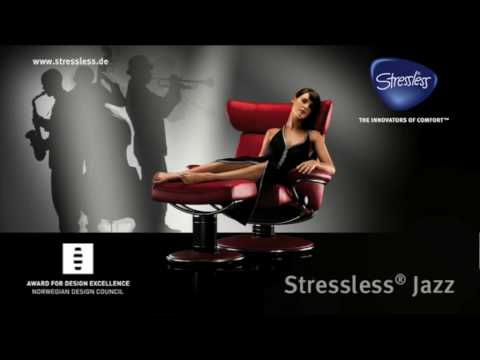 2009 ekornes stressless jazz internet pre roll spot youtube. Black Bedroom Furniture Sets. Home Design Ideas