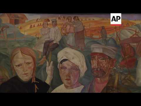 Exhibition marks 100 years since Russian Revolution