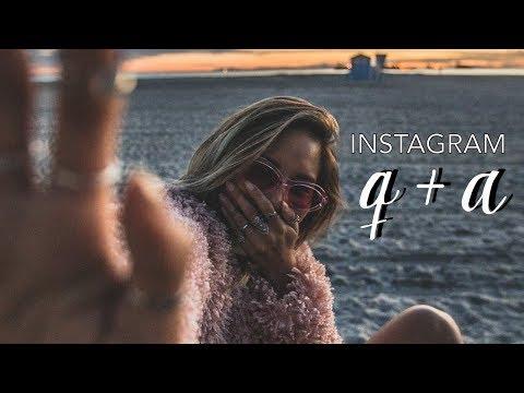 Instagram Q&A // Social Media Advice, Having Kids & Travel Plans