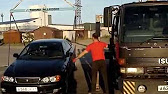 Tow truck services with a manipulator in Yekaterinburg - YouTube