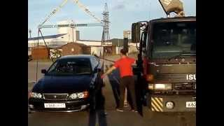 видео автомобилей эвакуатором
