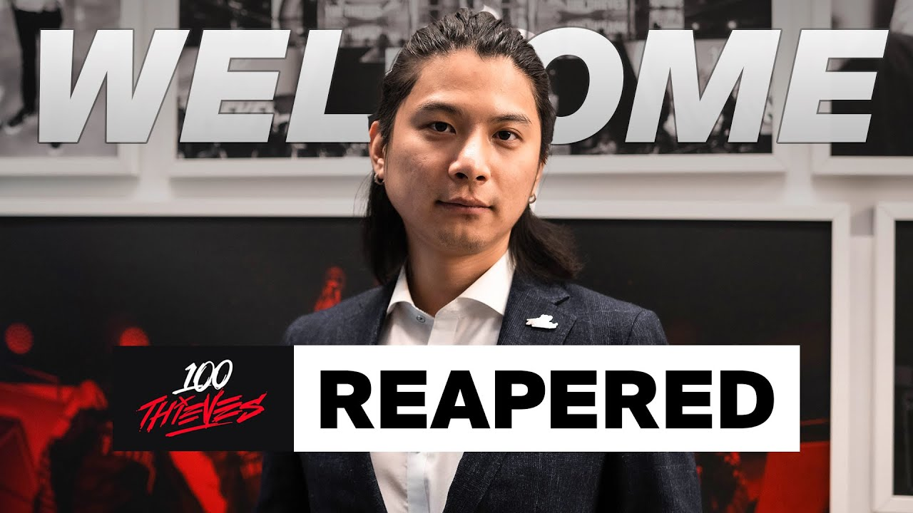 LEGENDARY Coach REAPERED Joins 100 Thieves League of Legends!