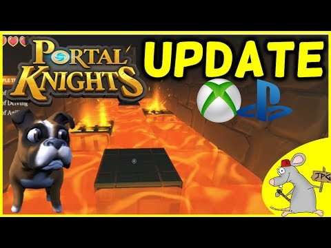 PORTAL KNIGHTS XB1 PS4 UPDATE IS LIVE - New Islands Trial Of Kolemis Event Pets Armor And More