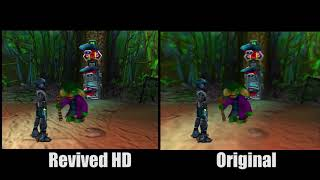 Jetforce Gemini HD Remastered HTC Texture Pack Comparison With Download