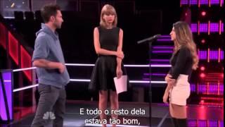 Taylor Swift no The Voice USA - Parte 2  [LEGENDADO]