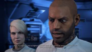Mass Effect: Andromeda - Nexus Reunion: Hyperion Deck: Scott Ryder, Cora Harper, Liam Kosta, Dunn