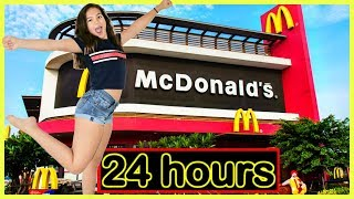 "I ONLY ATE McDONALDS FOODS FOR 24 HOURS ""SISTER FOREVER"""