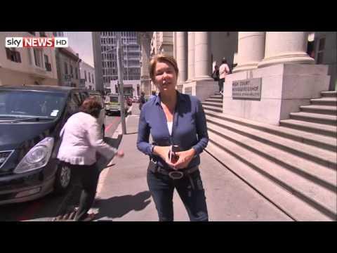 Sky News' Alex Crawford Reporting On Dewani Dismissal Application