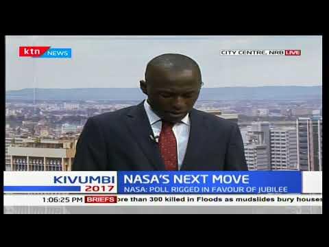 NASA leader, Raila Odinga to address a news conference to announce his next move