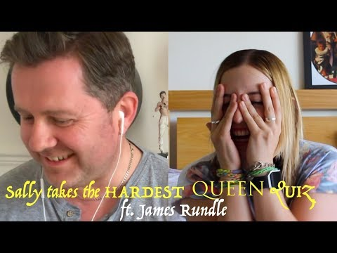 Sally Takes The Hardest Queen Quiz Feat. James Rundle