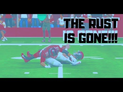 Can I Shake Off The Rust!?!  First Game Back!!! | Madden 19 Ultimate Team thumbnail