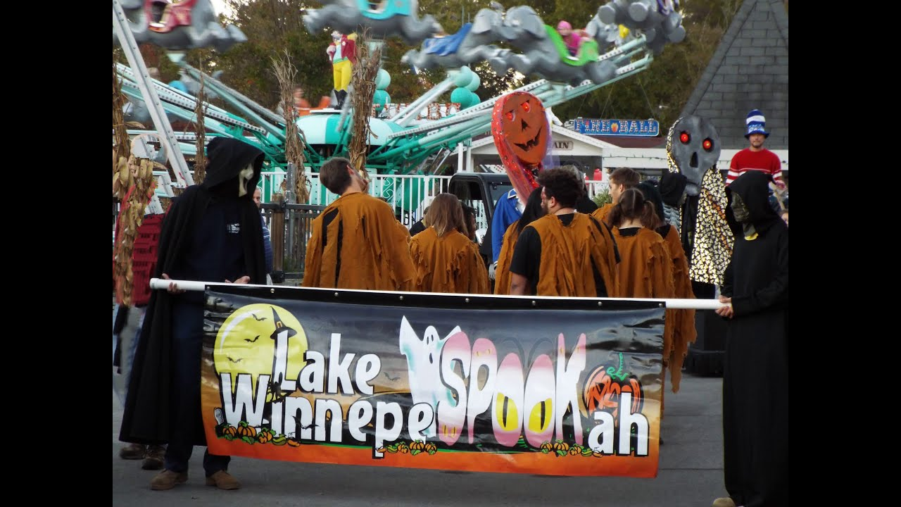 lake winnie lake winnepespookah parade 2015