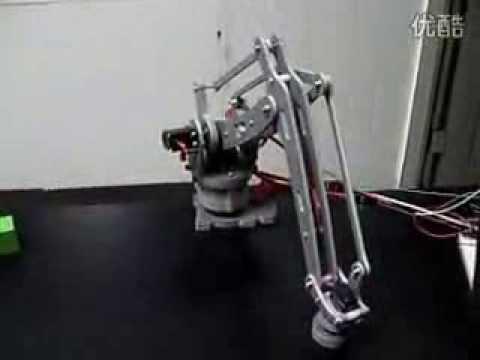 Arduino robot arm as-6 DOF aluminium clamp claw mount kit
