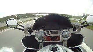 BMW K1600GTL (2015) - 0-200 and TOPSPEED