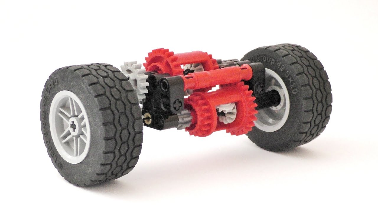 Lego Technic Compact Limited Slip Differential System Instructions