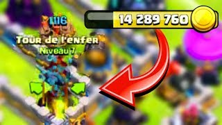 3 MILLION D'OR en moins de 20 minutes pour ma TDE MAX sur Clash of Clans