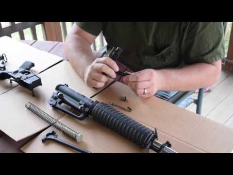 AR 15 Take Down