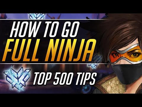The ONLY Way to Play Tracer - Top 500 Gameplay Tips | Overwatch Guide thumbnail