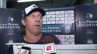 Pedro Troglio opina sobre la final del superclasico suspendido