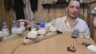 Arduino управление с ИК пульта радио розетками socket 433Mhz RF IR remote control