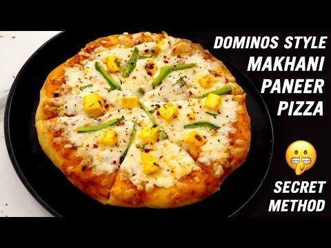 Dominos Style Paneer Makhani Pizza Recipe – Secret Method – CookingShooking