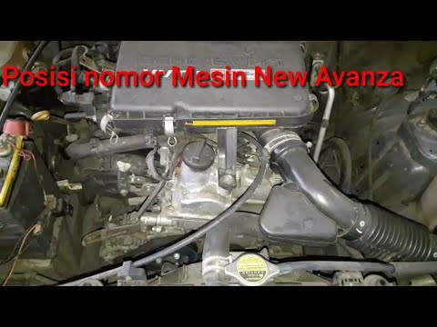 Posisi Nomor Mesin Grand New Avanza Veloz Modifikasi Letak Dan Rangka Toyota Youtube