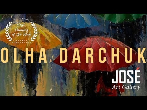 Olha Darchuk   Best Painting of the Week   Wall Art & Jose Art Gallery