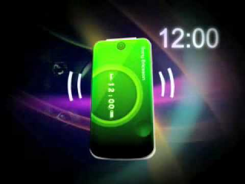Sony Ericsson T707 - Demo Tour