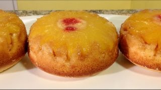 How To Make Pineapple Upside Down Cake-pineapple Recipes-how To Core Pineapple-american Comfort Food
