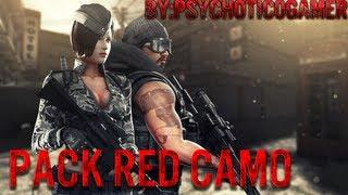 [PB] - Pack Red Camo V.1 | ᵀᴴᴱ ᴼᴿᴵᴳᴵᴻᴬᴸ | ᴴᴰ Thumbnail