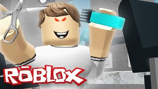 Roblox Adventures / Escape the Evil Barber Shop Obby / Escaping My Killer Haircut!