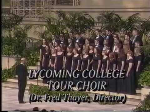 Lycoming College Choir 2002: Hour of Power