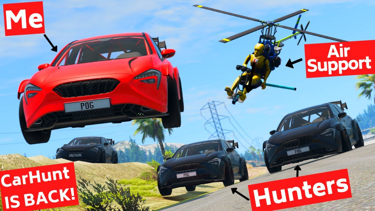 BeamNG Carhunt, But I Get Air Support