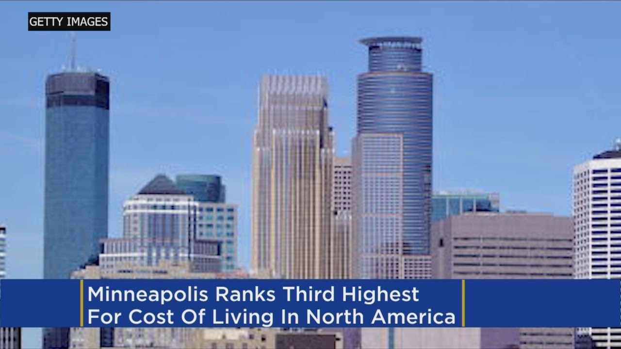 Minneapolis ranks third most expensive city in North America, Economist says