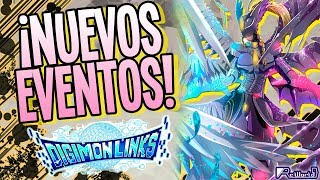 ¡Nuevos eventos en Digimon Links!