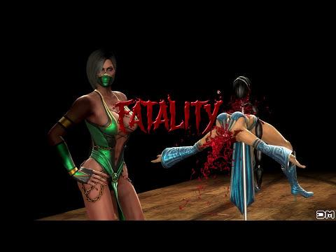 Mortal Kombat IX All Fatalities on Kitana Costume 2 PC 4k UHD 2160p Komplete Edition
