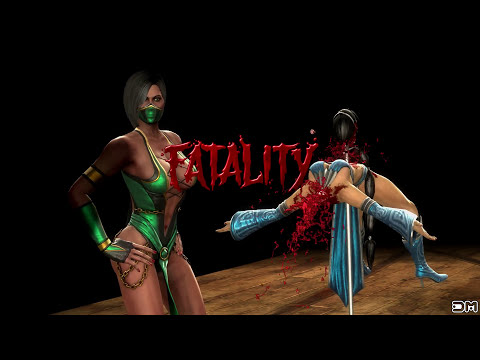 Mortal Kombat IX All Fatalities on Kitana Costume 2 PC 4k UHD 2160p Komplete Edition