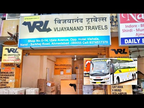 VOLVO BUS TICKET BOOKING DETAILS IN AHMEDABAD OFFICE   AHMEDABAD TO MUMBAI HUBLI BANGALORE   