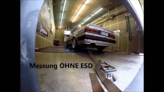Audi 80 B2 Quattro 20V Turbo on Dyno 902PS@836NM