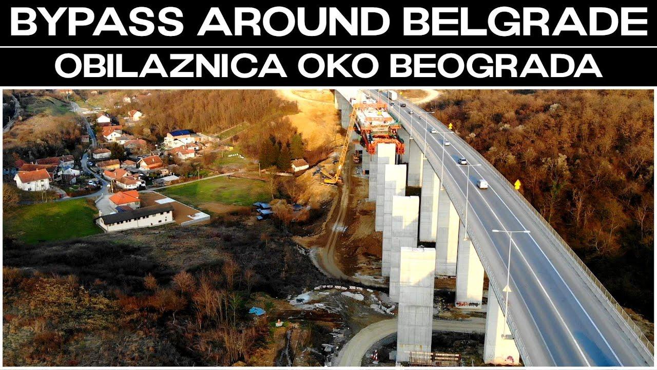 Bypass around Belgrade / Obilaznica oko Beograda - Izgradnja 2 vijadukta, mosta i Tunela Straževica