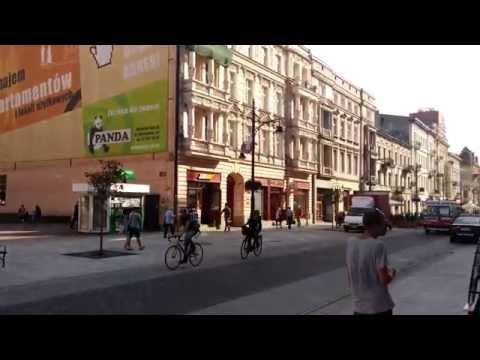 Ulica Piotrkowska '2014, Lodz, Poland in 4k Ultra HD (LG G3)