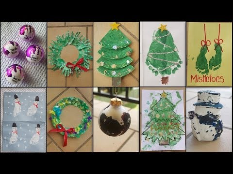 10 CHRISTMAS CRAFTS FOR TODDLERS & KIDS!