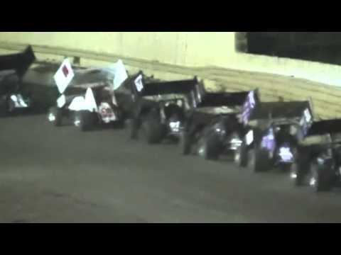 sprint car feature 7-13-13 creek county speedway sapulpa oklahoma