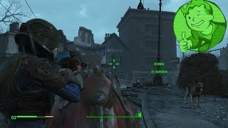 Fallout 4 Зачистка Убежища 75, Синты борьба за метро PS4