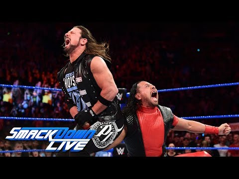 Did AJ Styles apologize to Shinsuke Nakamura?: SmackDown LIVE, May 1, 2018