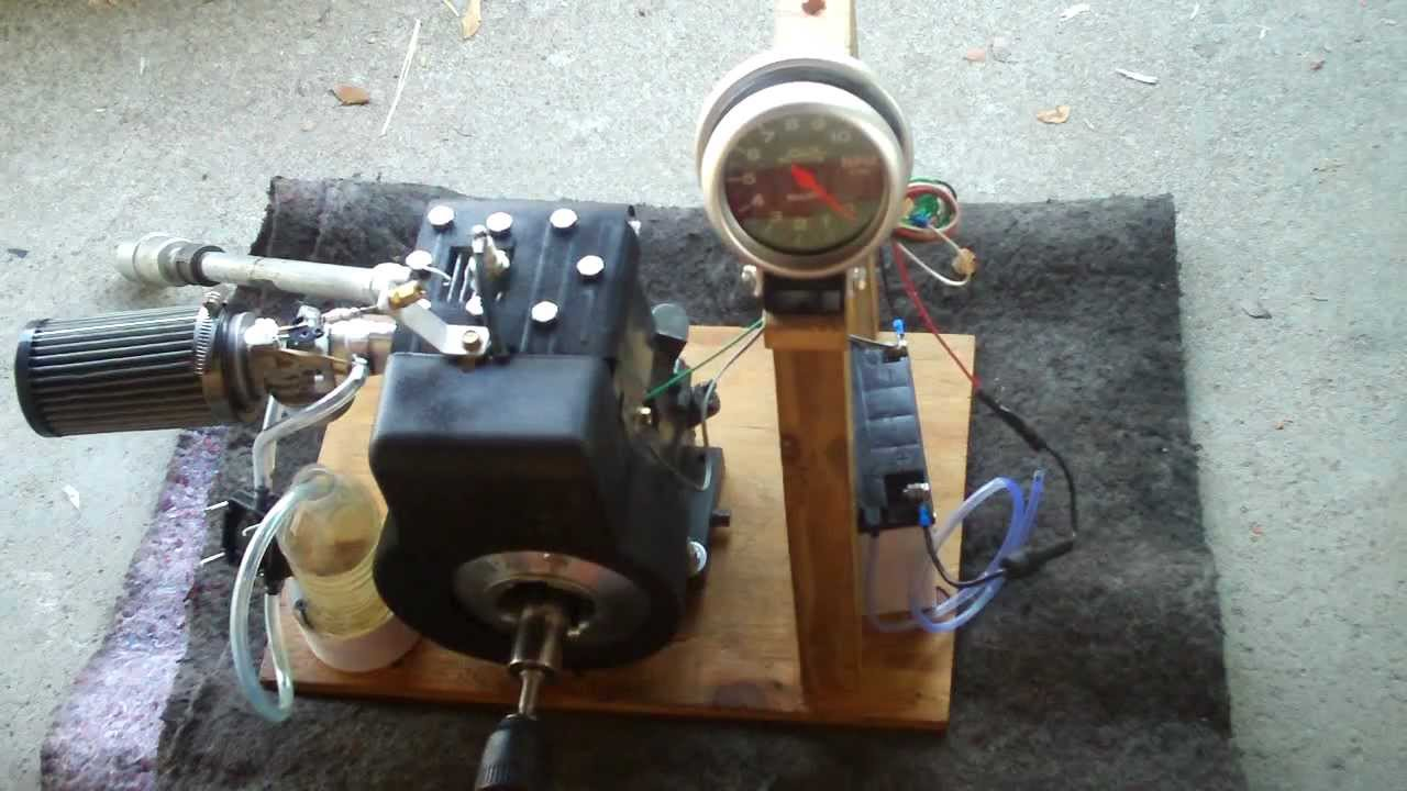 small resolution of new tachometer testing on briggs 3hp i c cold start e85 fuel