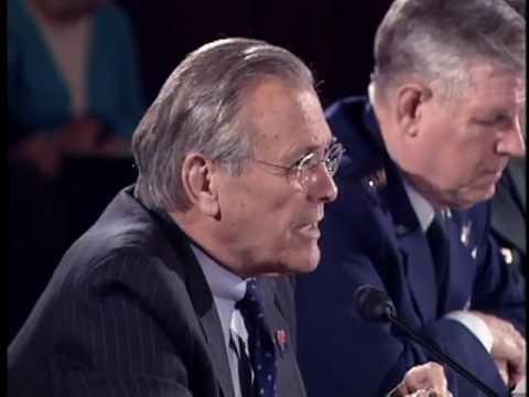 Kennedy, Rumsfeld Showdown on Iraq