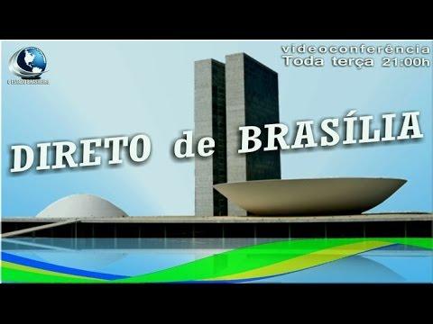 DIRETO DE BRASÍLIA [#001] Marxismo cultural terça 21h ao vivo